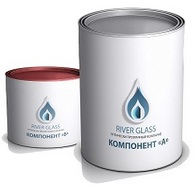 RiverGlass прозрачный эпоксидный компаунд