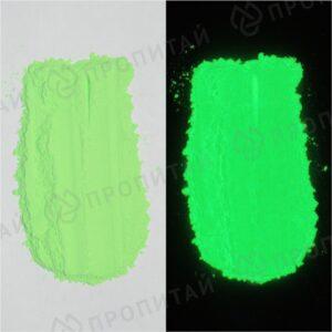 зеленый зеленого свечения