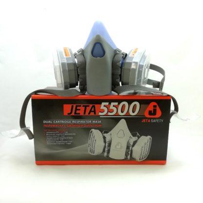 Полумаска с двойным фильтром Jeta 5500